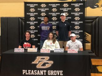 Pleasant Grove Athletes Signing Day