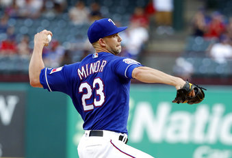 minor yanked starter rangers twins