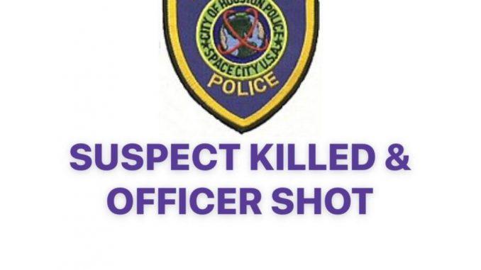 houston suspect killed officer shot