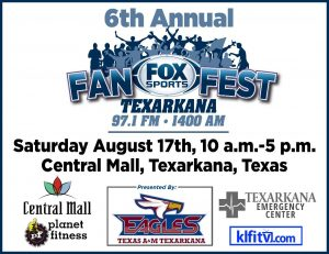 6th annual Fox Fan Fest central mall