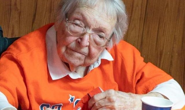 astros fan 105th birthday