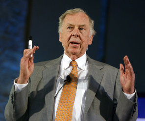 Oil tycoon T  Boone Pickens dies at age 91 - Fox Sports