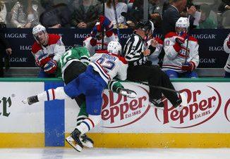 Stars beat Canadiens 4-1