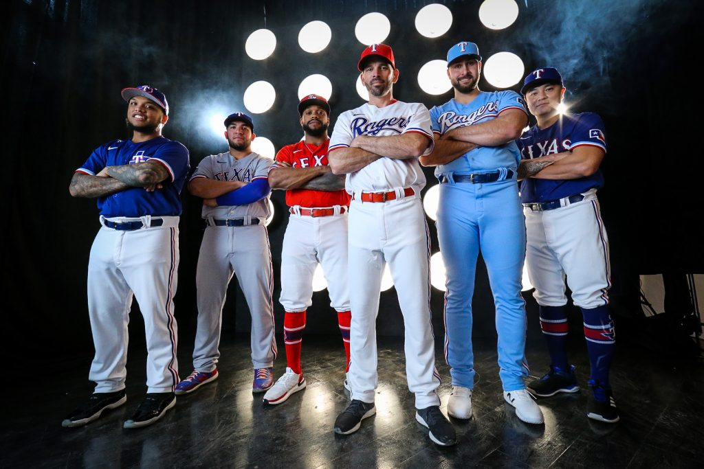 Rangers new uniforms