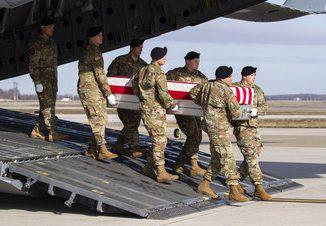 remains us soldier killed afghanistan
