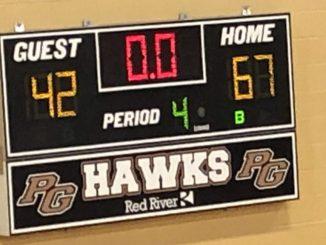 Pleasant Grove Lady Hawks win