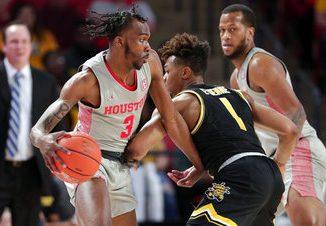 Houston 76-43 win Wichita State